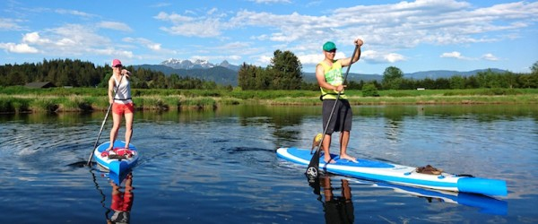 Touring Inflatable Paddle Boards