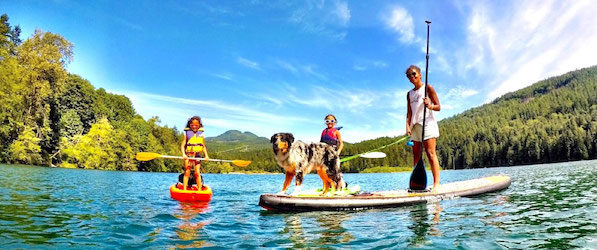 Stand-Up Paddling And Kids