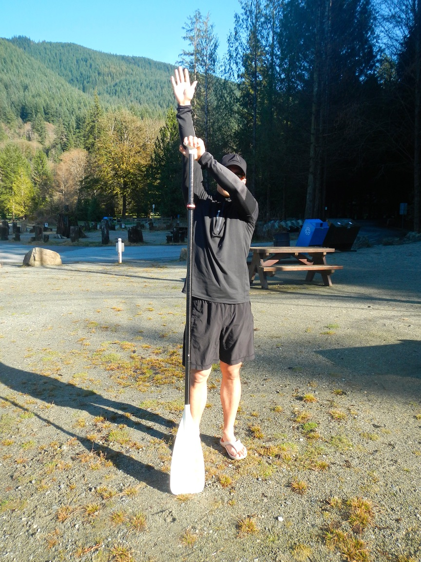 How To Hold Your Sup Paddle Correctly