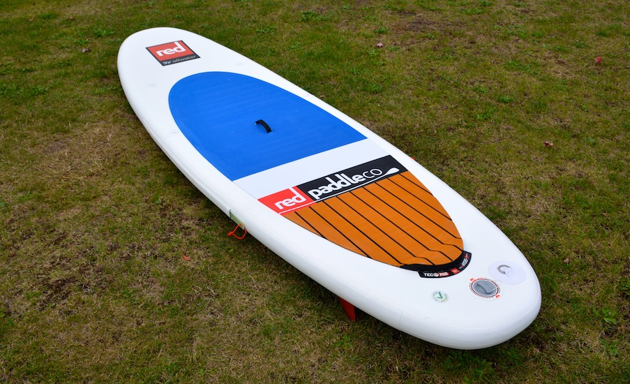 "Red 9'6"" Allwater SUP"
