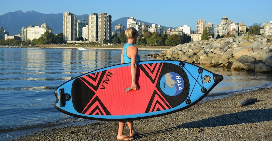 Hala Inflatable SUP comparison chart
