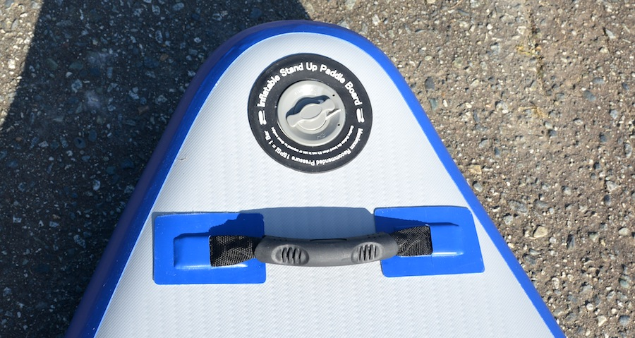SE Longboard front carry handle