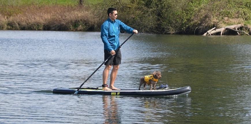 paddling the Isle Explorer