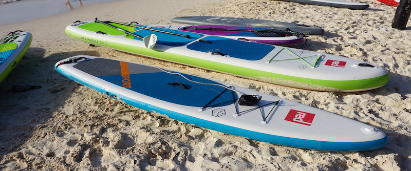 Red Paddle Co inflatable SUP's