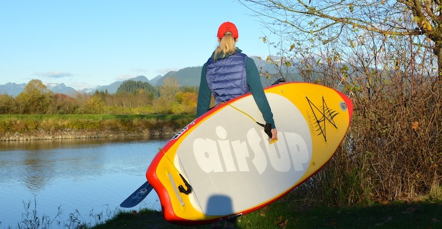 compare airsup inflatable SUP boards
