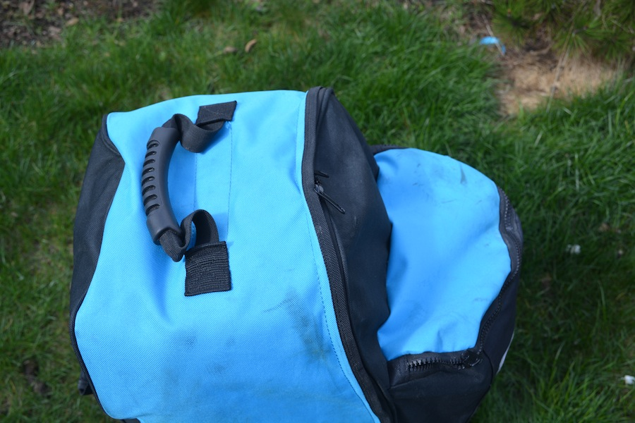Isle travel bag padded handle