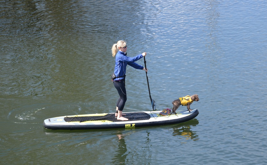 Isle 11' Explorer inflatable SUP