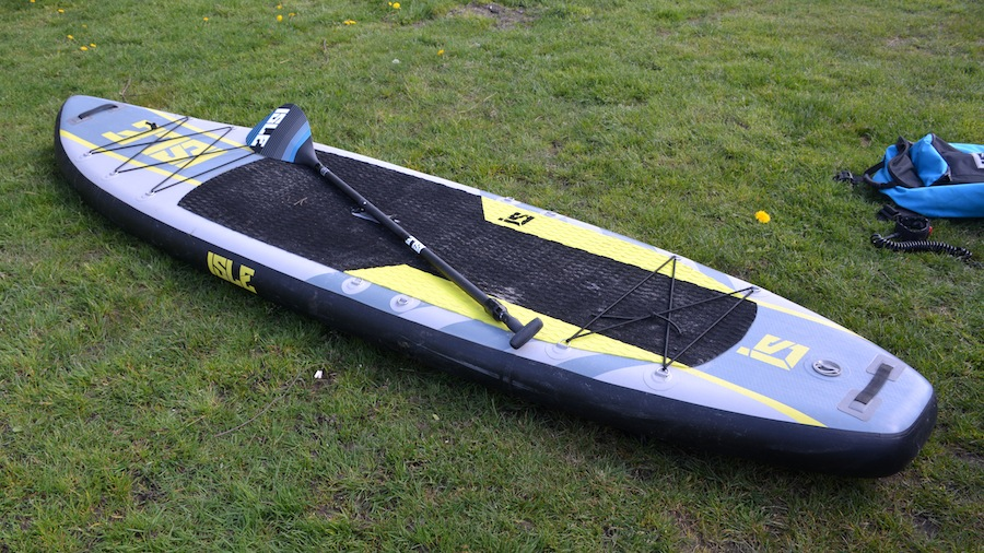 Isle Explorer ISUP with paddle