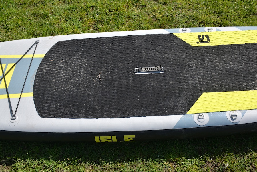 Isle inflatable sup padded carry handle