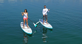 SipaBoard – The Self-Inflating Smart SUP