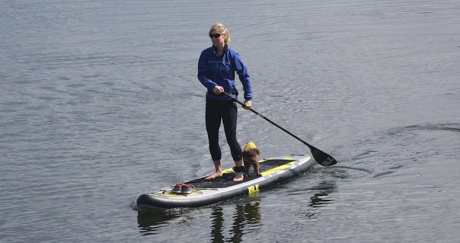 paddling Isle SUP wth 3-piece paddle