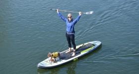 Isle Carbon Fiber 3-Piece SUP Paddle Review