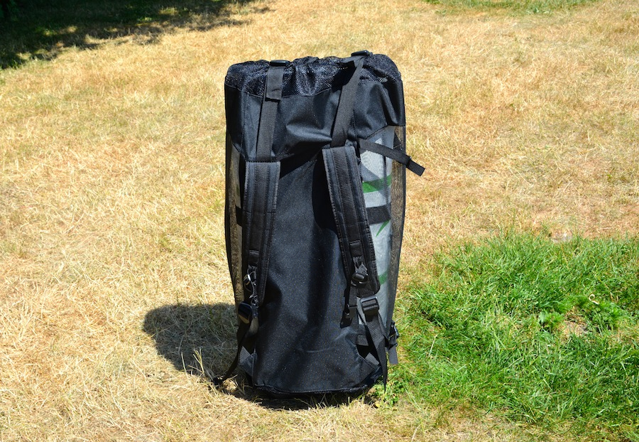 Current Drives backpack - back view