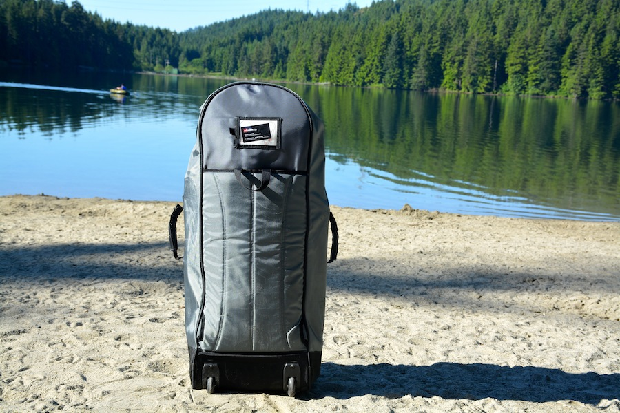 ISUP rolling backpack