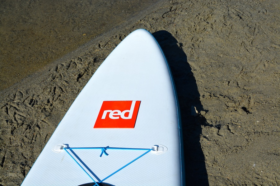 Red Paddle Co ISUP tapered nose
