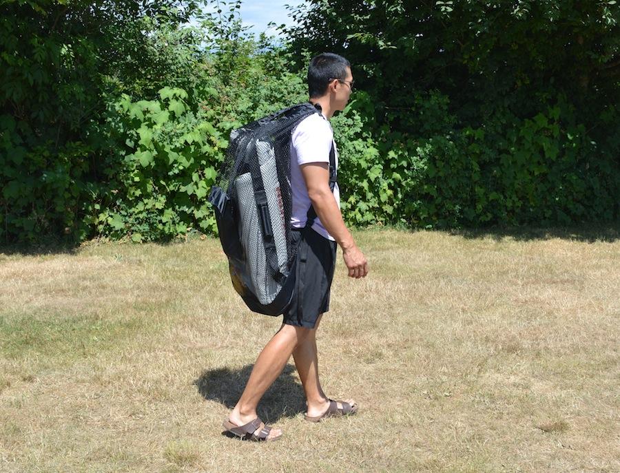 Saturn ISUP backpack