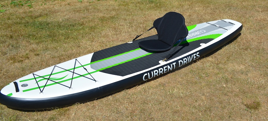 inflatable SUP with seat