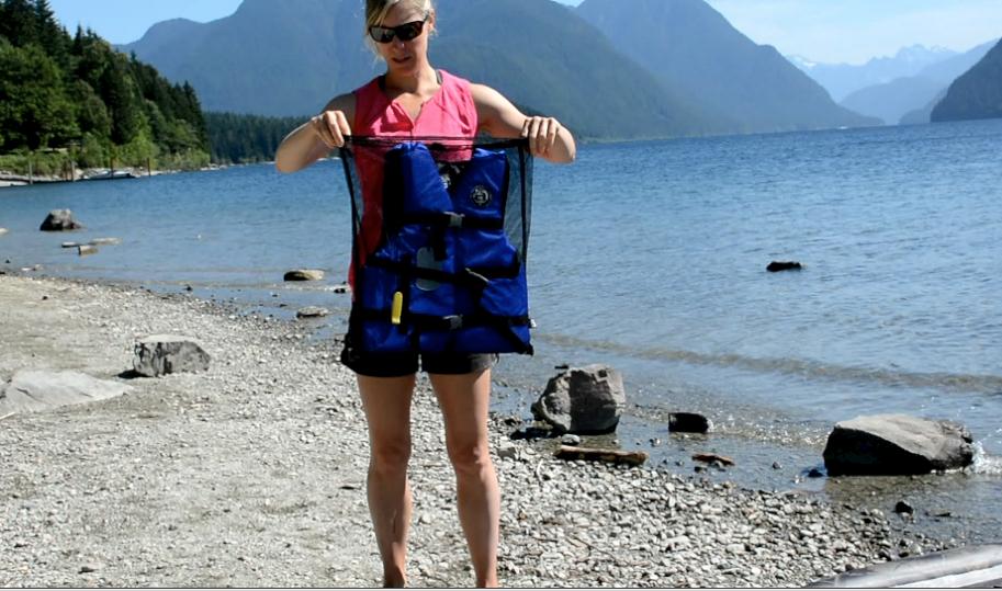 mesh lifejacket bag