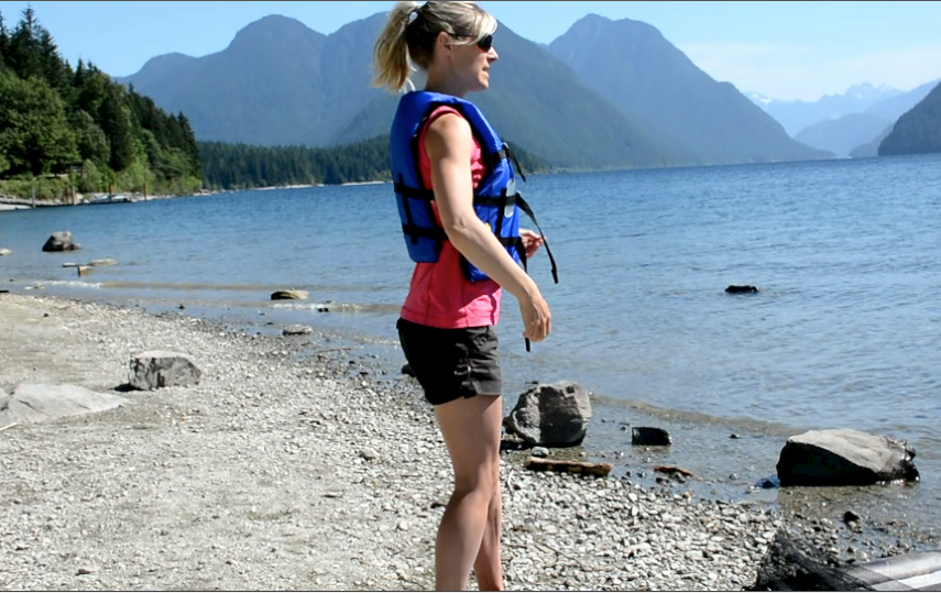 side view of the Airhead lifejacket