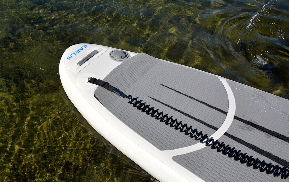 NRS SUP kick tail and paddle leash
