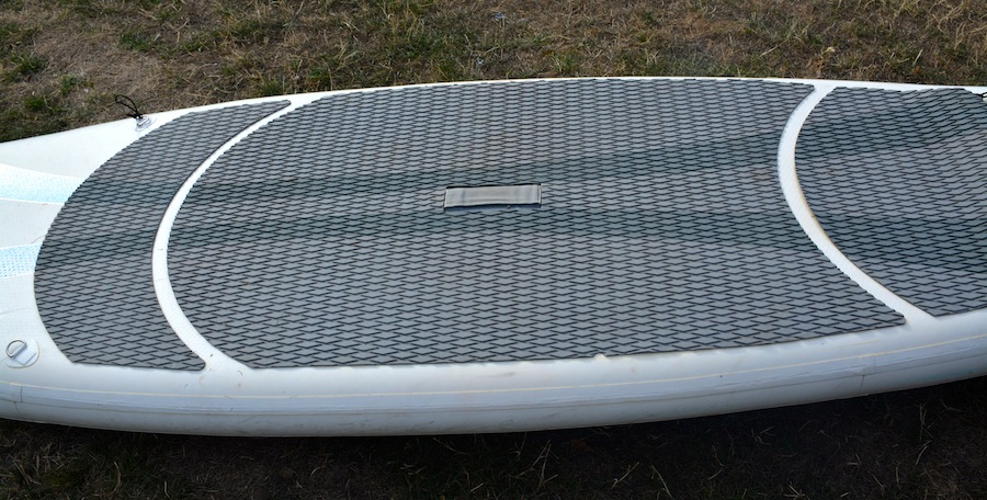 inflatable sup foam deck pad