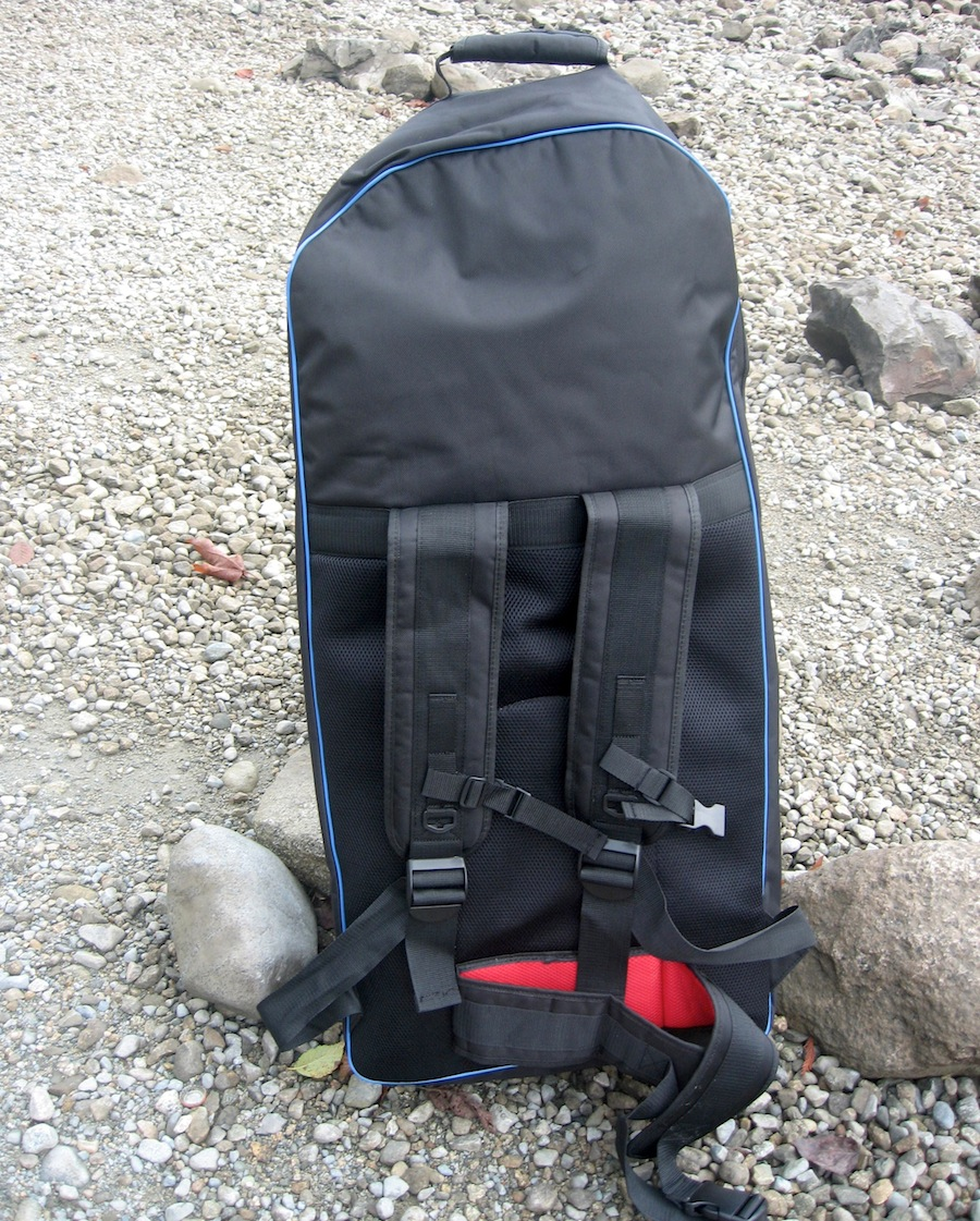 Earth River backpack back view