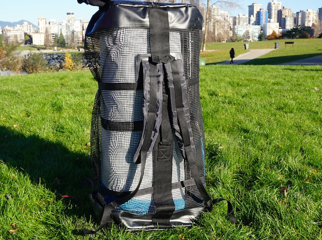 Airhead ISUP backpack with padded shoulder straps