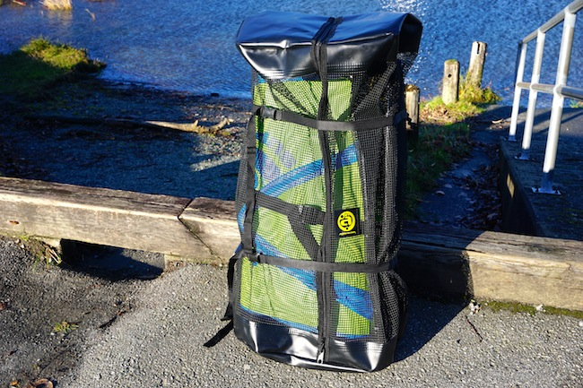 Airhead SUP backpack front view