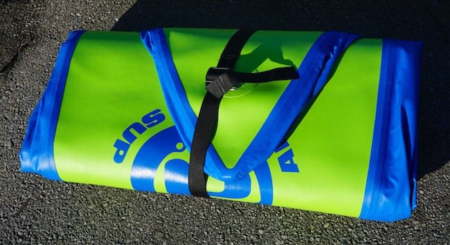 Airhead SUP Pace 1030 rolled up package
