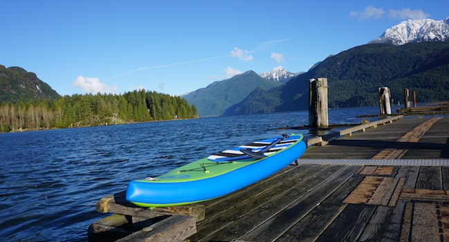 Airhead SUP Pace at Pitt Lake
