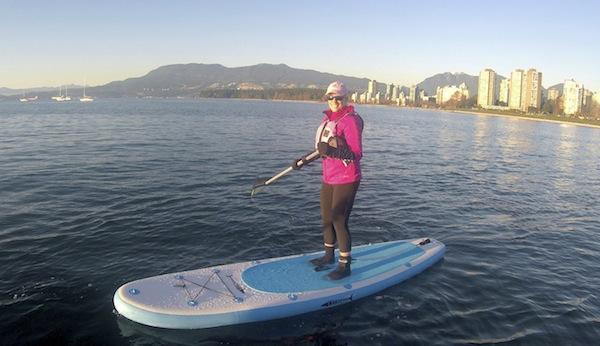 paddling the Wakooda LA132