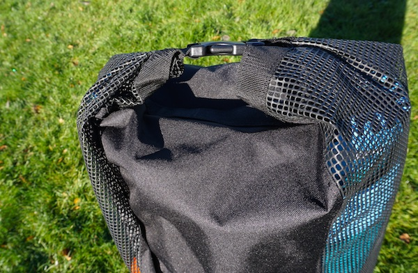 top closure of Wakooda backpack