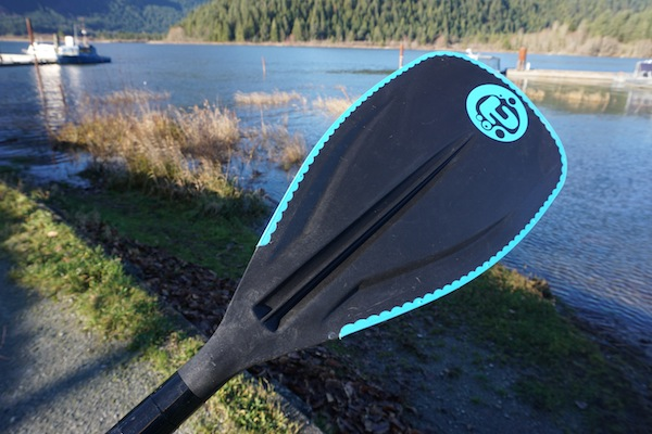 Airhead soft edge carbon composite sup paddle