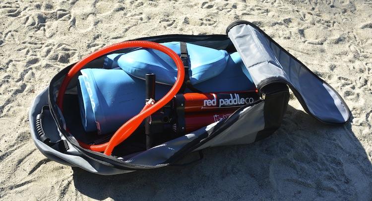 ISUP pump and backpack