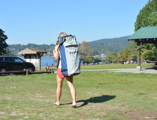 NRS ISUP backpack