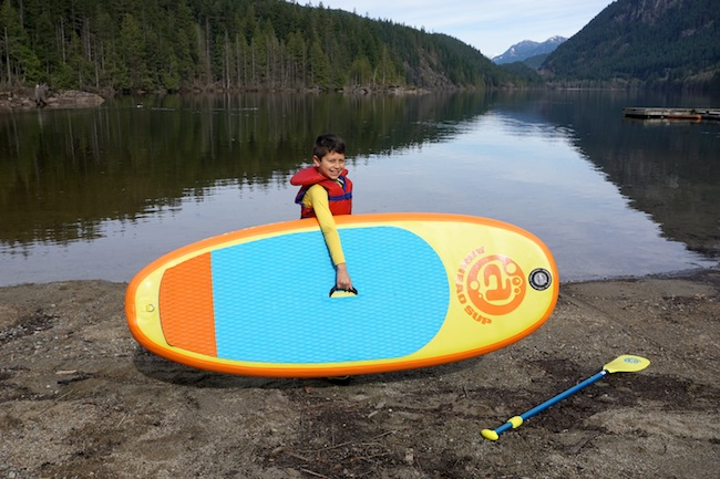 Airhead Popsicle inflatable paddle board for kids