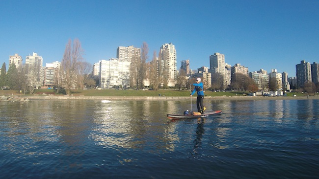 stand up paddling vancouver