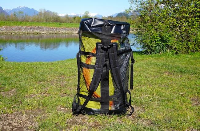 Airhead backpack shoulder straps