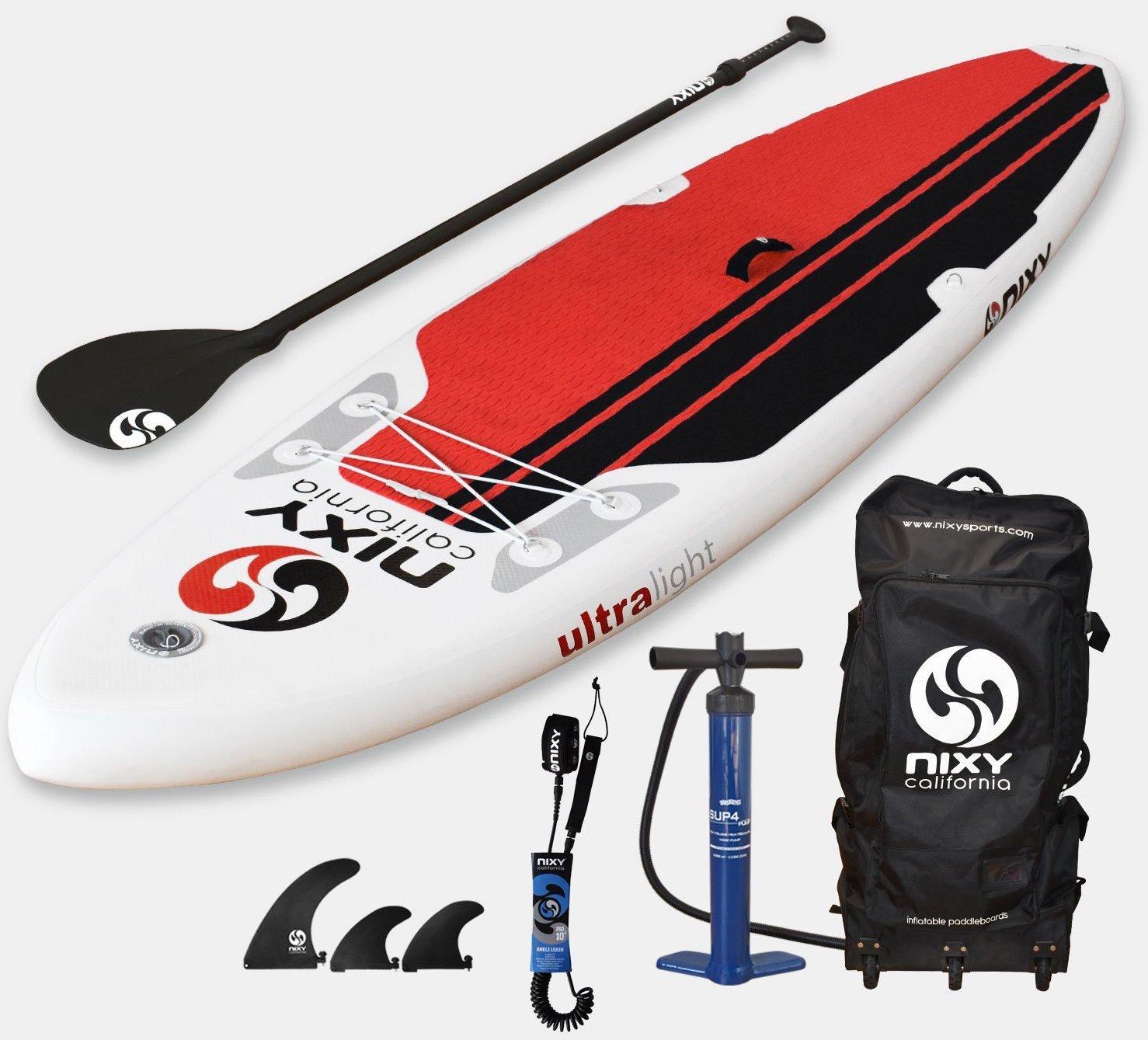 NIXY inflatable SUP ultra light
