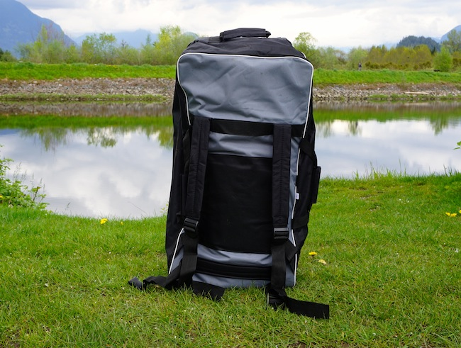 inflatable SUP backpack