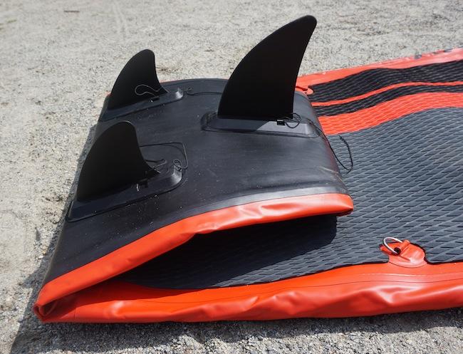 tri-fin configuration