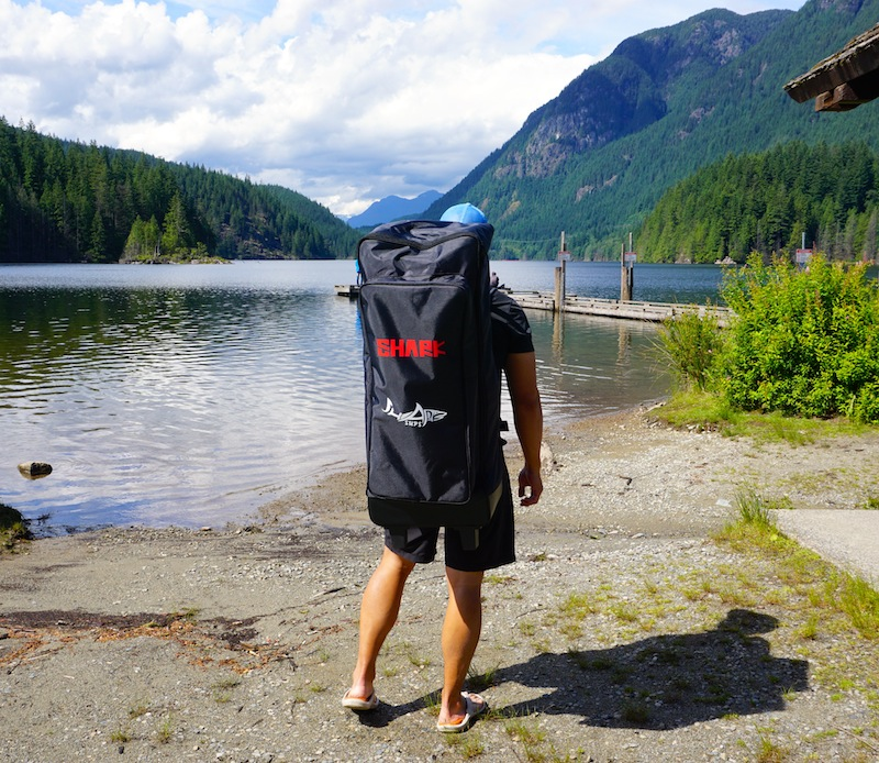 Shark SUP Backpack carry bag