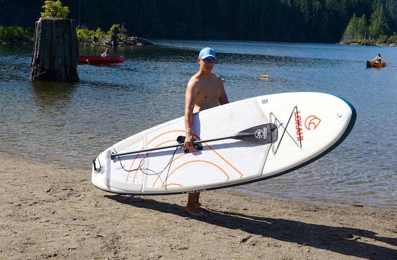 Lokahi inflatable SUP