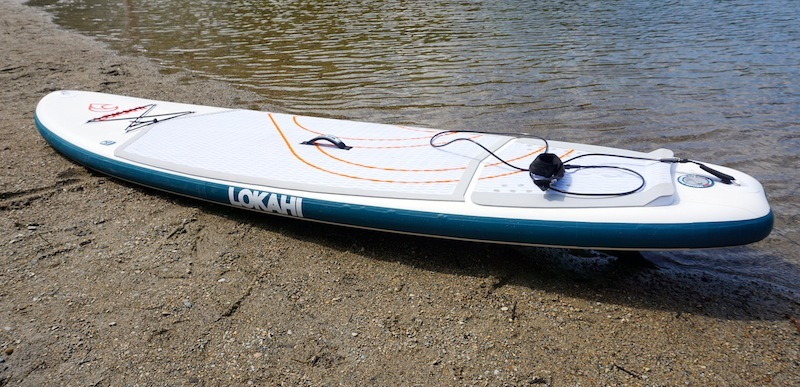"10'6"" WE inflatable stan-up paddleboard"