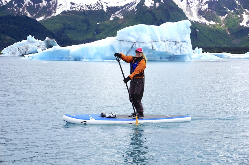 paddling the Sic Recon ISUP with Liquid Adventures in Alaska