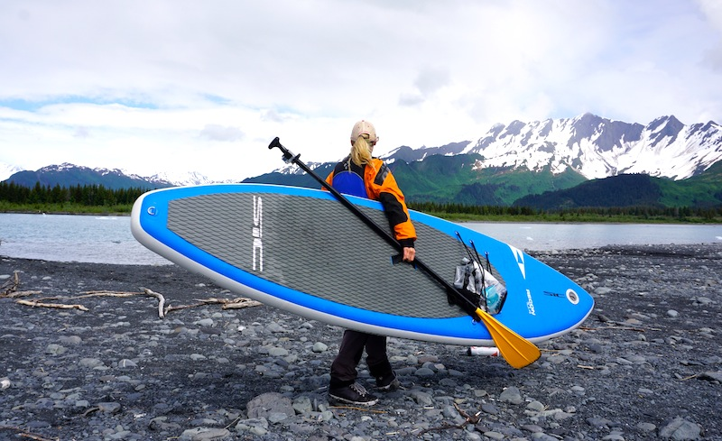 SIC Recon inflatable SUP in Alaska