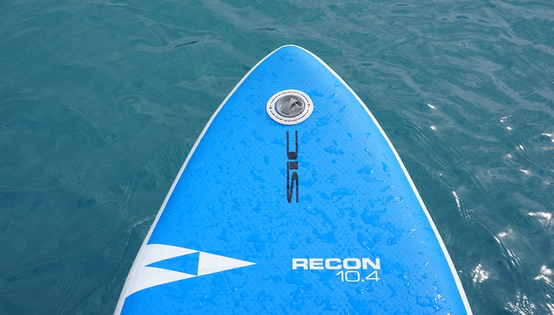 SIC Recon 10.4 inflatable paddle board tapered nose
