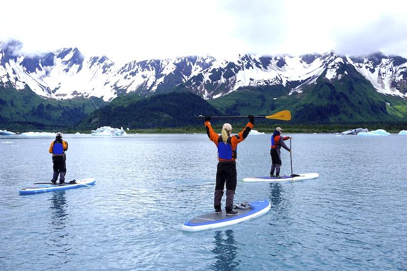 stand-up paddling Alaska