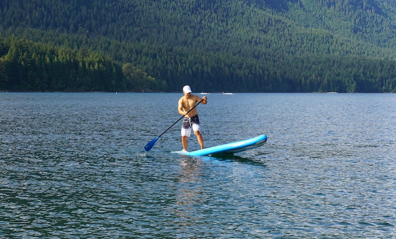 SUP pivot turn iRocker 11' paddle board