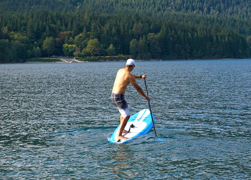 iRocker pivot turns stand up paddling